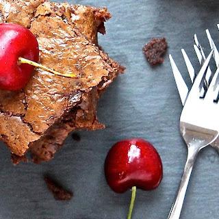 Chocolate-Cherry-Pecan Brownie