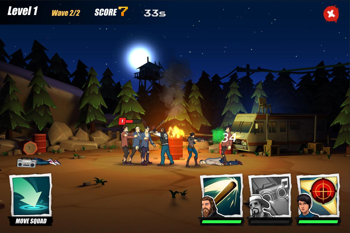 Zombie Faction - Battle Games for a New World- screenshot