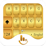TouchPal Gold Keyboard Theme 6.2.14.2019