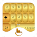 TouchPal Gold Keyboard Theme Icon