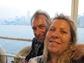 Photo: Day 200 -  Us on the Star Ferry #2