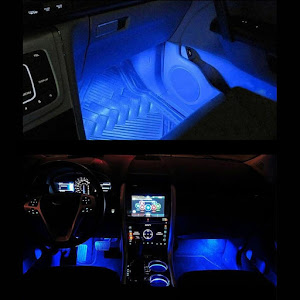Lumini auto LED ambientale, Ice Blue TY-780