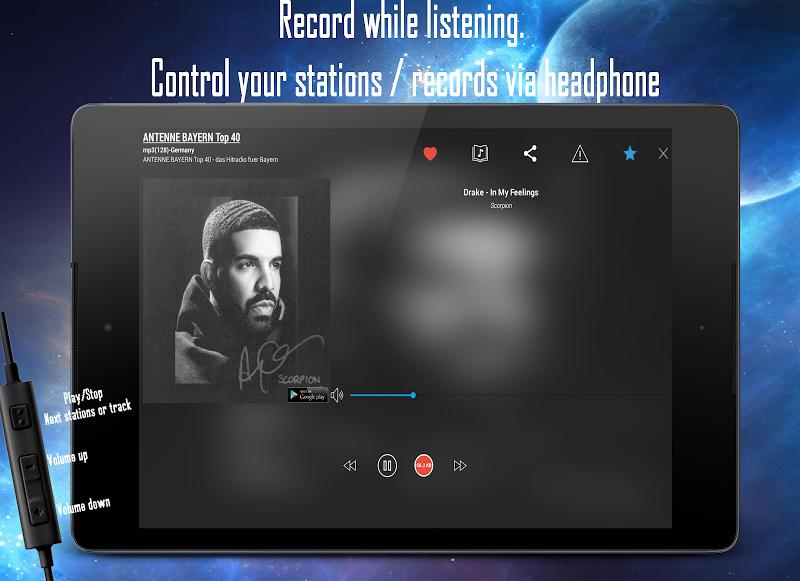 Cloud Radio Pro - Record , Lyrics & Music Screenshot 9