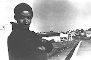 Winnie Madikizela-Mandela in Brandfort in  1977, during her internal exile. She was among the 22 accused who were charged in the 1969 treason trial in the Old Synagogue in Pretoria.
