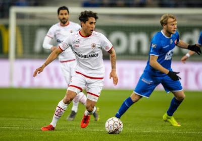 Omar Govea va poursuivre sa carrière en Pro League, mais pas à l'Antwerp