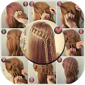 Hairstyles Step by Step DIY icon