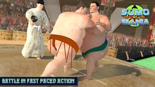 Sumo Wrestling Mania - Fight: Free Wrestling Games