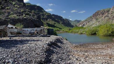 Photo: Lagoon at old Los Burros