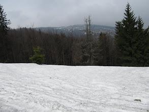 Photo: 12.Rzut oka na Wielką Raczę (Veľká Rača, 1236 m).