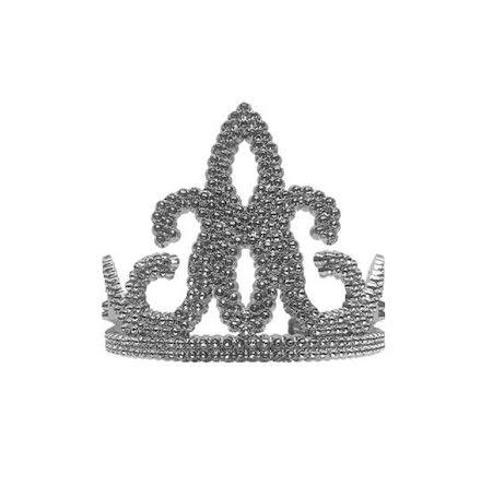 Drottningtiara, silver