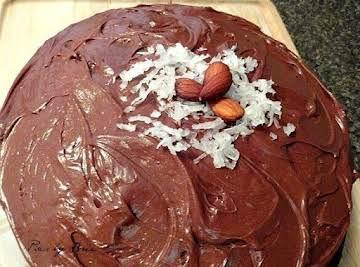 Almond Chocolate Joy Cake