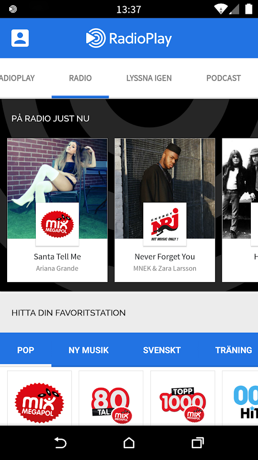 RadioPlay- screenshot
