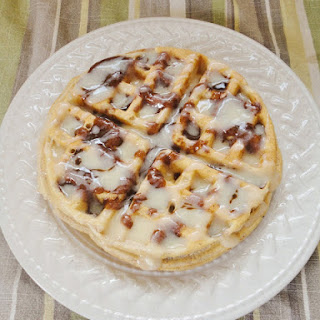 Cinnamon Roll Topping {For Waffles or Pancakes}