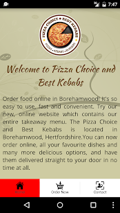 Pizza Choice and Best Kebabs- screenshot thumbnail