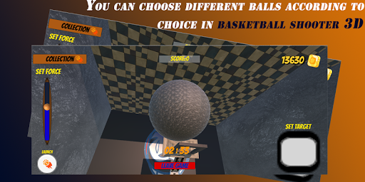Basketball Shooter 3D - Best Ball Shooting Game android2mod screenshots 6