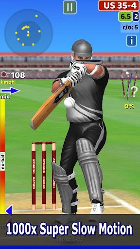 Cricket World Domination - a cricket game for all  captures d'écran 1