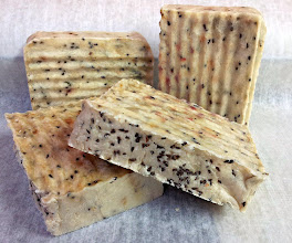 Photo: Sabun Body Be Moist Lavender Bar Soap- Made with Syrian rue seeds for a light scrub, and organic fair-trade sugar for extra bubbles. This soap is very moisturizing with a creamy lather.
