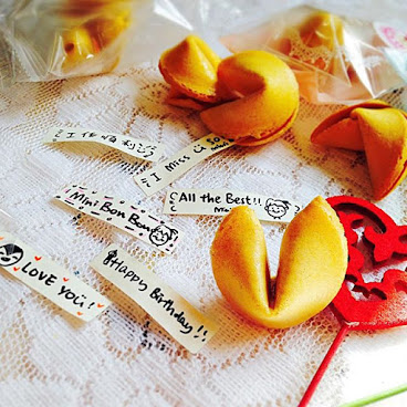 自訂幸運曲奇 Customized Fortune Cookies