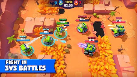 Tanks A Lot! - Realtime Multiplayer Battle Arena APK screenshot thumbnail 1