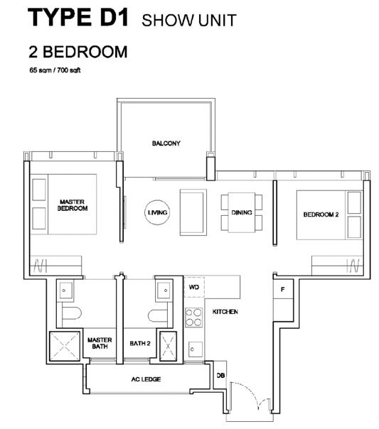 Hyll on Holland Floor Plan   61008187   Singapore