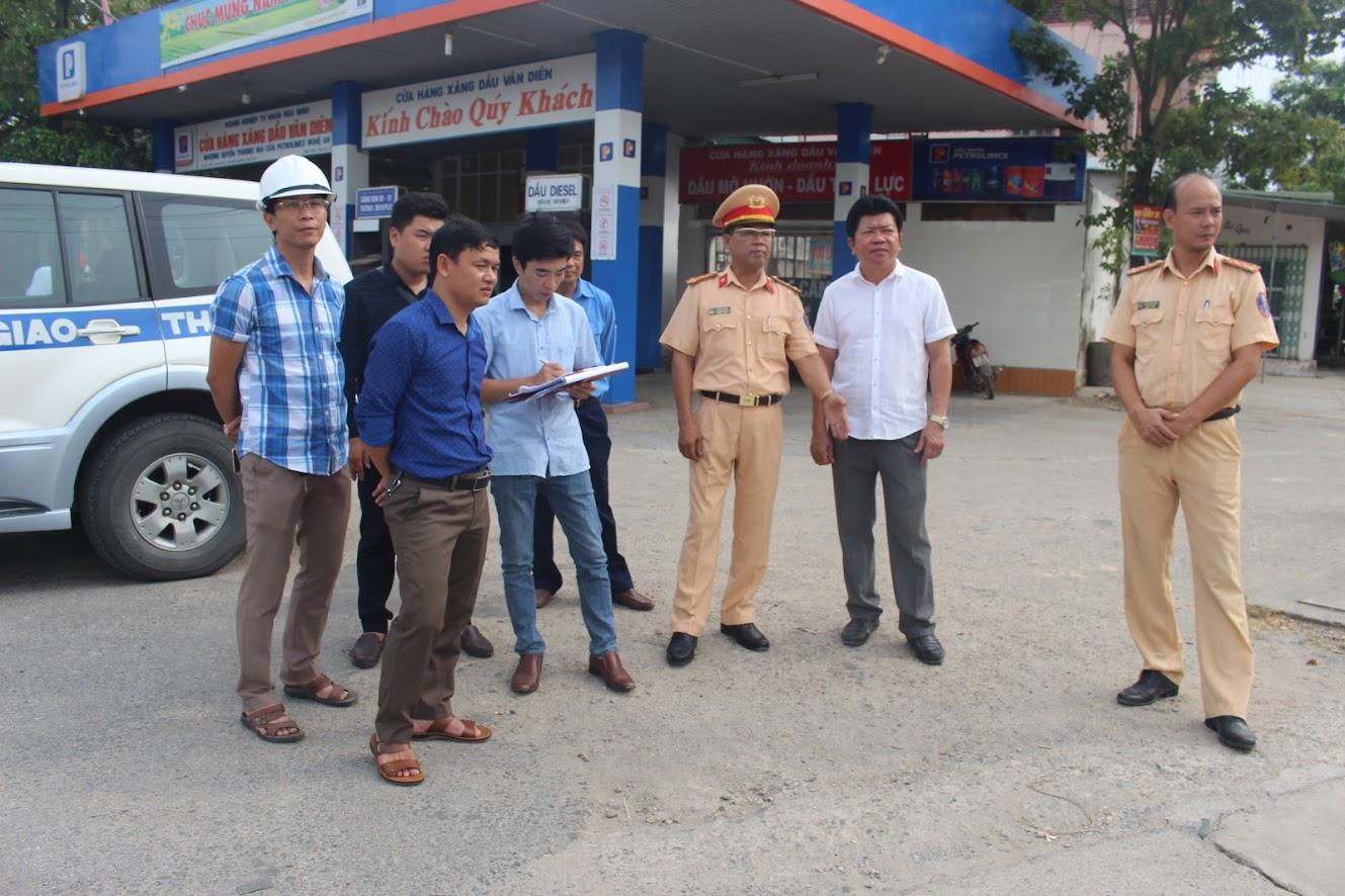 Đoàn kiểm tra tại huyện Nam Đàn