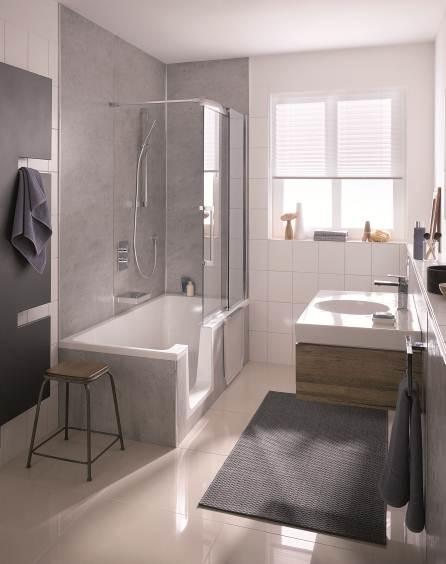 Duschen oder Baden – alles ist möglich!