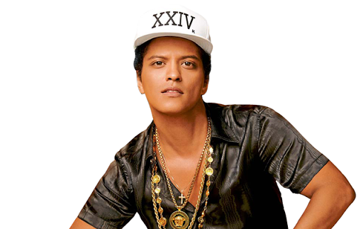 Bruno Mars. Picture: SUPPLIED