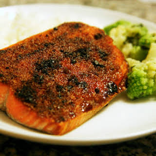 Broiled Sockeye Salmon.