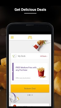 McDonald's APK screenshot thumbnail 1