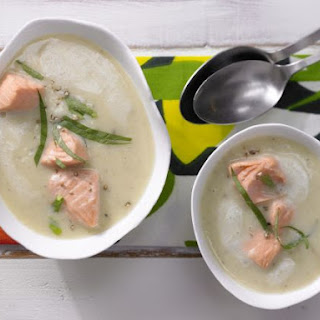 Potato Soup with Salmon