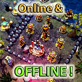 ☣️ Clash Of Orcs ⛺️ City Building Defense War TD