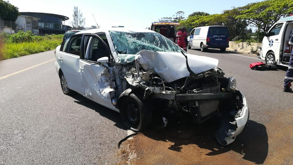 Ten injured as two vehicles collide near Durban mall - SowetanLIVE