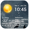 Desktop Weather Clock Widget apk