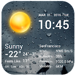 Desktop Weather Clock Widget 7.3.2.1028_release