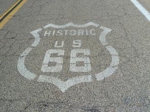 Photo: c'est parti sur la 66
