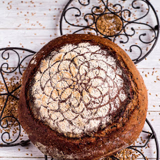 Chestnut Flax Seeds Sourdough Bread
