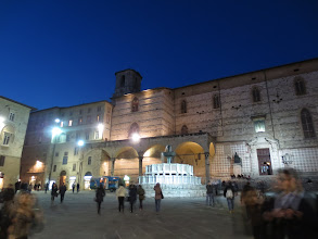 Photo: Piazza Novembre IV in Perugia
