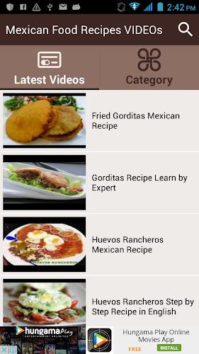 Mexican Food Recipes VIDEOs APK | APKPure ai