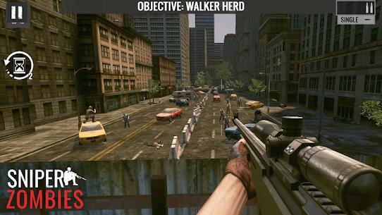 Sniper Zombies: Offline Shooting Games 3D Mod Apk 1.44.0 (Unlimited Money) 3
