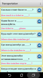 Russian phrasebook and phrases for the traveler - náhled