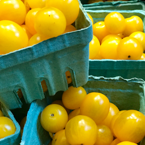 Golden Tomatoes  by Lope Piamonte Jr - Food & Drink Fruits & Vegetables