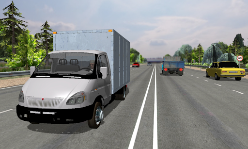 Code Triche Traffic Hard Truck Simulator APK MOD (Astuce) screenshots 1