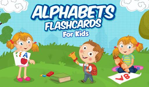 Alphabets Flashcards For Kids