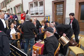 Photo: Die Vorbereitung für unser zweites Konzert im Adelberg