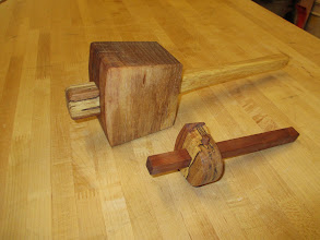 Photo: Shop-made pecan mallet & marking gage