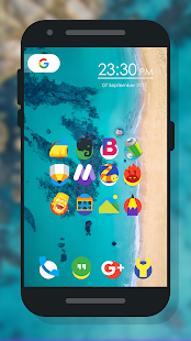 X Back - Icon Pack Screenshot