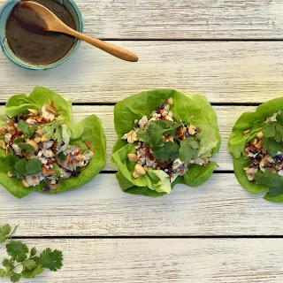 Vegetarian Tofu Lettuce Cups Recipe