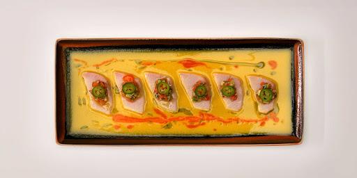 Raw-On-5-sushi.jpg -  A sushi dish at Raw On 5, a simple but elegant raw bar on Celebrity Edge.
