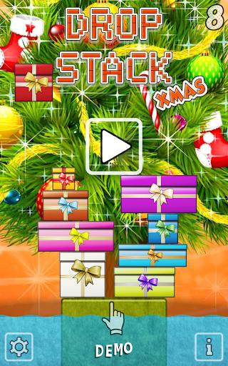 Drop Stack Christmas