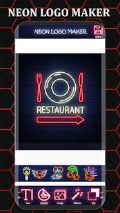 Neon Logo Maker - Logo Creator & Logo Designer Screenshot